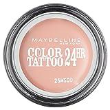 Maybelline New York Color Tattoo Ombre à Paupières Rose 91 Crème de Rose