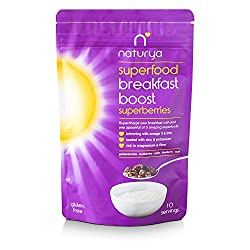 Superberries contains goldenberries, mulberries, goji's, blueberry and acai powders. Supercharge your breakfast with just one spoonful of 5 amazing superfoods. Naturya's products are nature's most nutrient-rich foods. A quick sprinkle will supercharg...