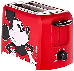 Mickey Mouse 2 Slice Red Toaster Disney Gift Ideas for Adults
