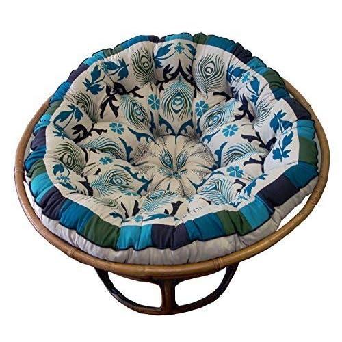 Fantastic Papasan Cushion Amazon Com Beatyapartments Chair Design Images Beatyapartmentscom