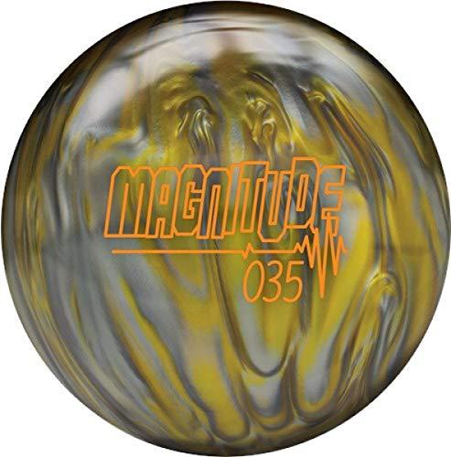 Brunswick Magnitude 035 Reaktiv Pearl High Performance Bowling Ball Bowlingkugel mit Asymetrischem Kern Größe 12 LBS