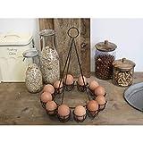 Chic Antique Eierbecher Eierhalter f.12 Eier Vintage Eierbecher Shabby