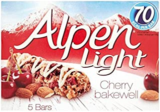 Alpen Light Bars Cherry Bakewell - 5 x 19g