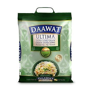 Daawat Ultima Extra Long Grain Basmati Rice 2-Years Aged 10lbs