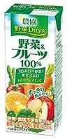 野菜Days野菜&フルーツ100% 200ml ×18本