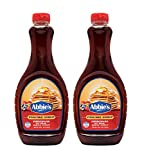 Abbie's Pancake Syrup with 2% Original Maple Syrup, 710ml, Pack of 2, Product