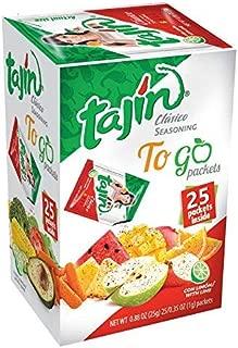 Tajin Classico Seasoning To Go Packets x 25 Sachets 25g