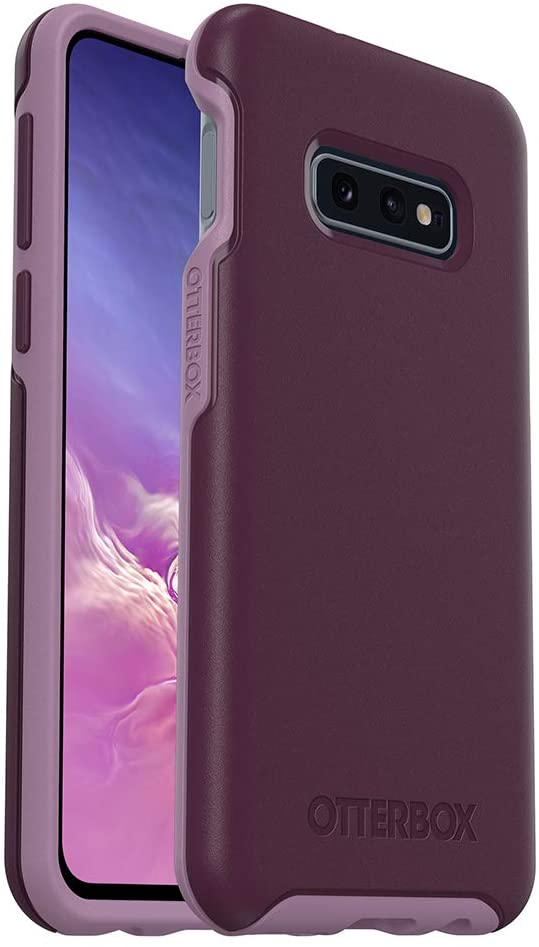 OtterBox SYMMETRY SERIES Case for Galaxy S10e - Retail Packaging - TONIC VIOLET (WINTER BLOOM/LAVENDER MIST)