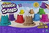 Kinetic Sand KNS RFL SglCntnr 10PK CB ECMX GML, 6052995, multicolor , color/modelo surtido
