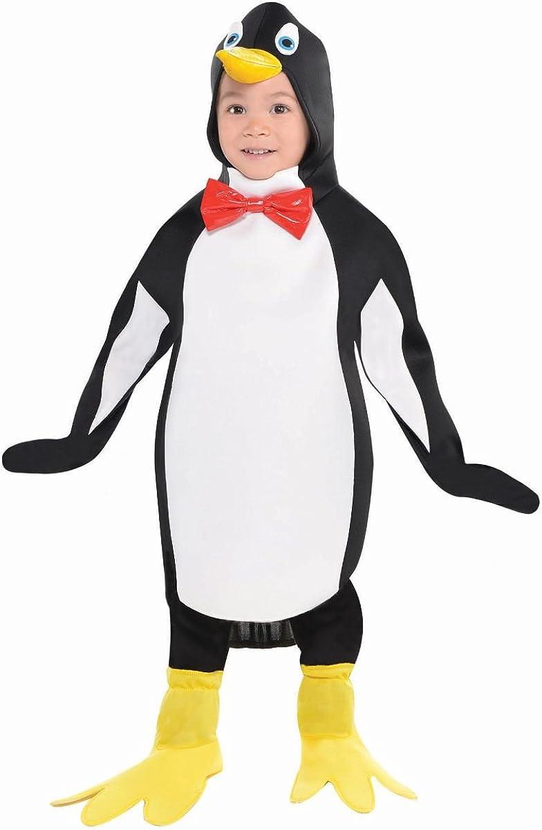 Taglia: M Adulto Christys Costume da Pinguino con Papillon