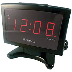 WESTCLOX 70014 .9 Plasma LED Alarm Clock electronic consumer