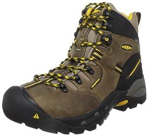"""KEEN Utility mens Pittsburgh 6"""" Steel Toe Work Boot, Brown/Slate Black, 11EE"""
