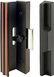 Slide-Co 141842 Sliding Door Handle Set, Black/Aluminum/Diecast