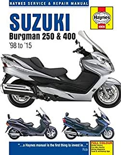 Mather, P: Suzuki Burgman 250 & 400 (98 - 15) (Haynes Service & Repair Manual)