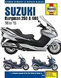 Suzuki Burgman 250 & 400 (98 - 15) (Haynes Service & Repair Manual)