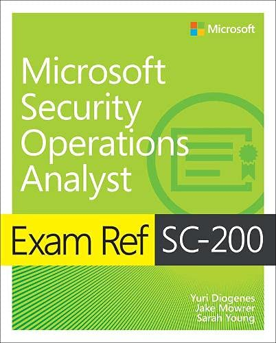 Exam Ref SC-200 Microsoft Security Operations Analyst Front Cover