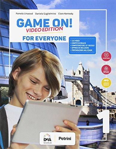 Game on! Student's book for everyone. BES. Per la Scuola media. Con e-book. Con espansione online [Lingua inglese]: Vol. 1