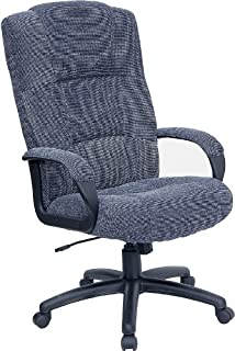 Flash Furniture High Back Gray Fabric Executive Swivel Office Chair with Arms