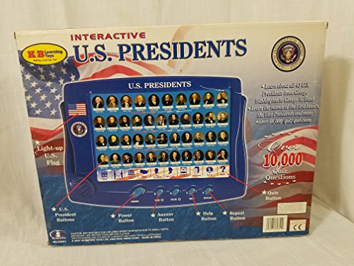 Scientific Toys Interactive U.S. Presidents - Electronic Learning Toy
