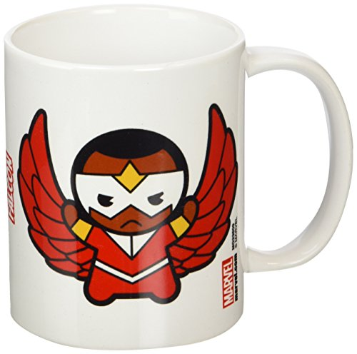 Marvel Kawaii Falcon–Taza de cerámica, Multicolor