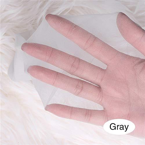 Kousen 0D Super dunne zijden sokken vrouwelijke slanke Naadloze Invisible panty blote huid, transparant Tips, First-class Meat in de zomer (Color : Gray, Size : One Size)