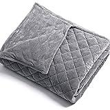 Anjee Abnehmbarer Bettbezug für Gewichtsdecken Innenschicht zum Sauberhalten   NUR Bezug Ultraweich...