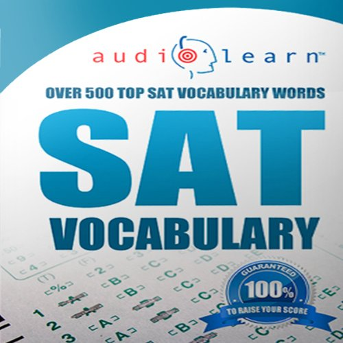 2013 SAT Vocabulary AudioLearn audiobook cover art