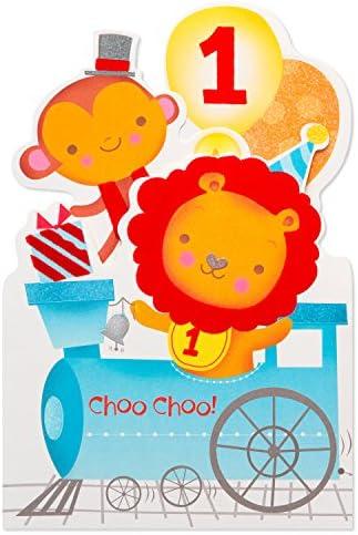 American Greetings 1st Birthday Card Choo Choo product image