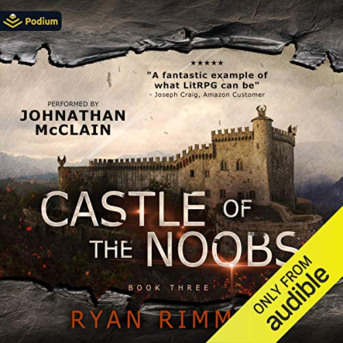Page de couverture de Castle of the Noobs