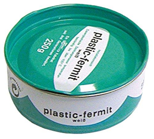 FERMIT Dichtungsmasse Plastik-Fermit weiß Dose 250g Plastik-Fermit max. Temperatur 120°C temperaturbeständig, elastisch