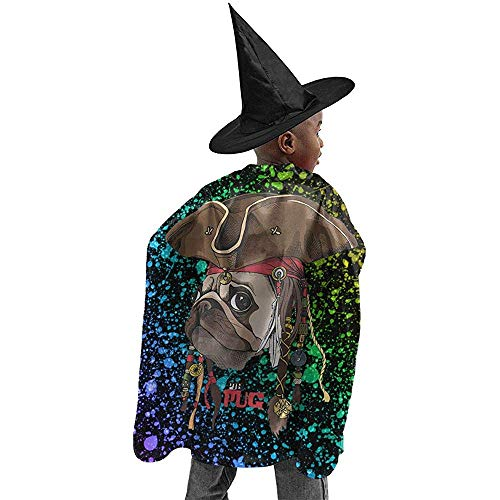 Cape Hexe,Zauberermantel,Cape Zauberer,Zauberer Mantel,Hexen Mantel,Wizard Cloak,Witch Cloak,Hexen Umhang,Witch Cape,Wizard Cape,Piraten Mops Poster Halloween Hexe Cosplay Kostüme Robe Cape Mante