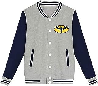 Youth Nightwing Night Fury Letterman Jacket Varsity Baseball Bomber Cotton Jacket