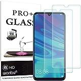 wonbu 2 Unidades, Cristal Templado para Huawei P Smart 2019, P Smart+ 2019, Antiarañazos, 9H, 0.33...