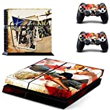 Playstation 4 Skin Set - Titanfall HD Printing Vinyl Skin Cover Protective for PS4 Gaming Console and 2 PS4 Controller by Mr Wonderful Skin