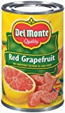 Del Monte Red Grapefruit Sections in Light Syrup 15oz Can (Pack of 6)