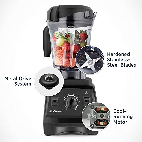Vitamix 7500 Blender, Professional-Grade, 64 oz. Low-Profile Container, White