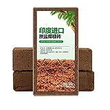 SqSYqz Coco Coir Mix Brick (3Er-Pack),Brown-Schützt Die Pflanzen Das Ganze Jahr Lang,Frei Von...