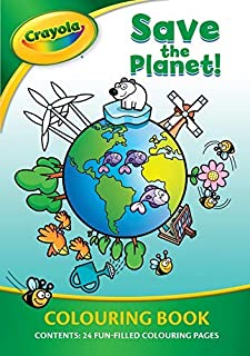Phidal Crayola Save The Planet Colouring Book