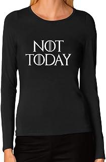 Tstars - Not Today Women Long Sleeve T-Shirt
