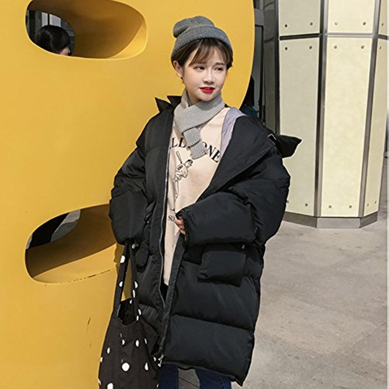 Xuanku Extra Dicke Baumwolle Mantel Mantel Mantel Weiblichen Herbst Und Winter Wilde Lose, Lange, Auch Cap Brot Kleidung Kleidung Aus Baumwolle Jacke B076FPLC5B  Elegant und feierlich c6870c