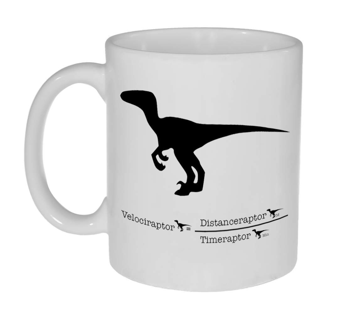 Velocity Raptor Funny Coffee or - 11 Tea Mug Cheap mail order specialty store ounce Beauty products