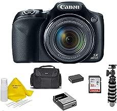 Canon Powershot SX530 HS 16MP Wi-Fi Super-Zoom Digital Camera 50x Optical Zoom +Accessory Bundle + TopKnotch Deals Cloth (International Model)