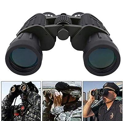 SoB 60x50 High Power Military Binoculars, Compact HD Professional/Daily Waterproof Binoculars for Adults Telescope Bird Watching Travel Hunting Football-BAK4 Prism FMC Lens