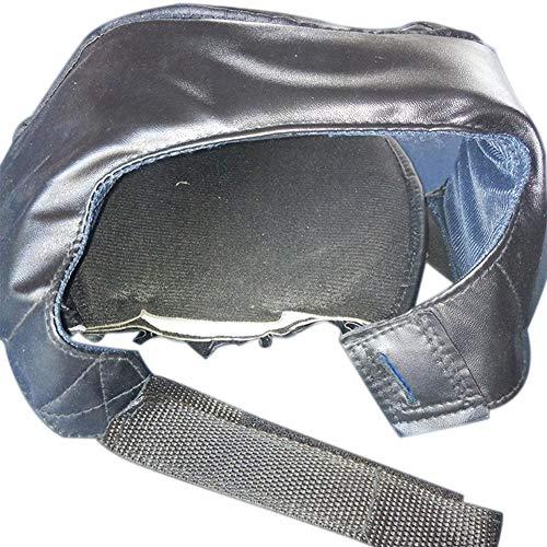 Fancyland Protecteur de Boxe - Protection de la tête pour Hommes, Articles de Sport - Noir