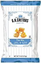 G.H. Cretors The Mix Popped Caramel & Real Cheddar Cheese Pop Corn 7.5 oz. (Pack of 2)