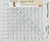 Quilt in a Day Square N' Fussy Ruler, 1.5' To 9.5', Clear