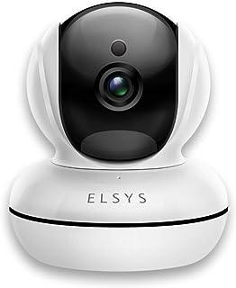 Camera de Segurança HD com Infravermelho Elsys ESC-WR2 Wi Fi, Branco