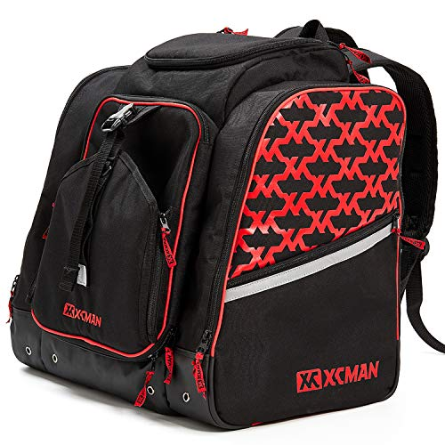 XCMAN Ski Boots and Snowboard Boot Backpack Bag, Excellent for Travel with Waterproof...