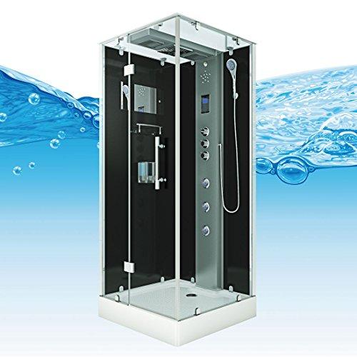 AcquaVapore DTP6038-2303L Dusche Dampfdusche Duschtempel Duschkabine -Th. 100×100, EasyClean Versiegelung der Scheiben:2K Scheiben Versiegelung +99.-EUR - 8