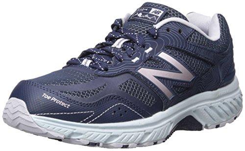 New Balance Women's 510 V4 Trail Running Shoe, Navy, 5.5 W US